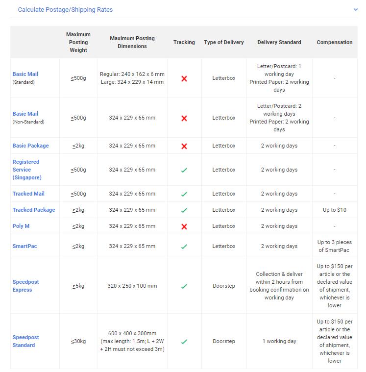 Singpost Product & Services easycooldude